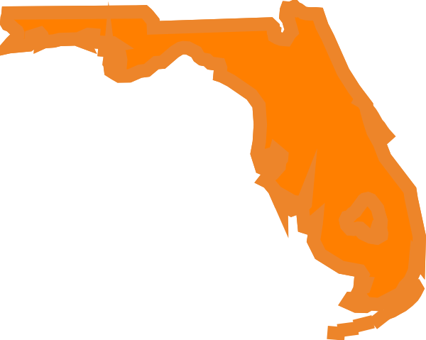 Clip art at clker. Florida state outline png stock