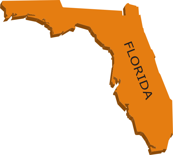 Florida clipart. Free map cliparts download