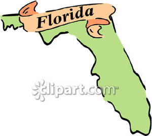 Florida clipart. State of