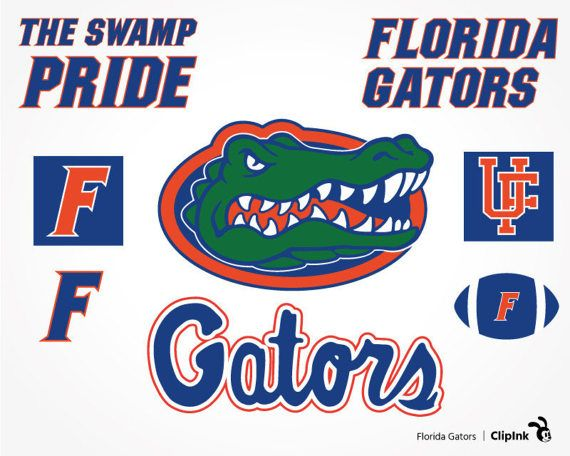 Florida clipart file. Gators svg silhouette files