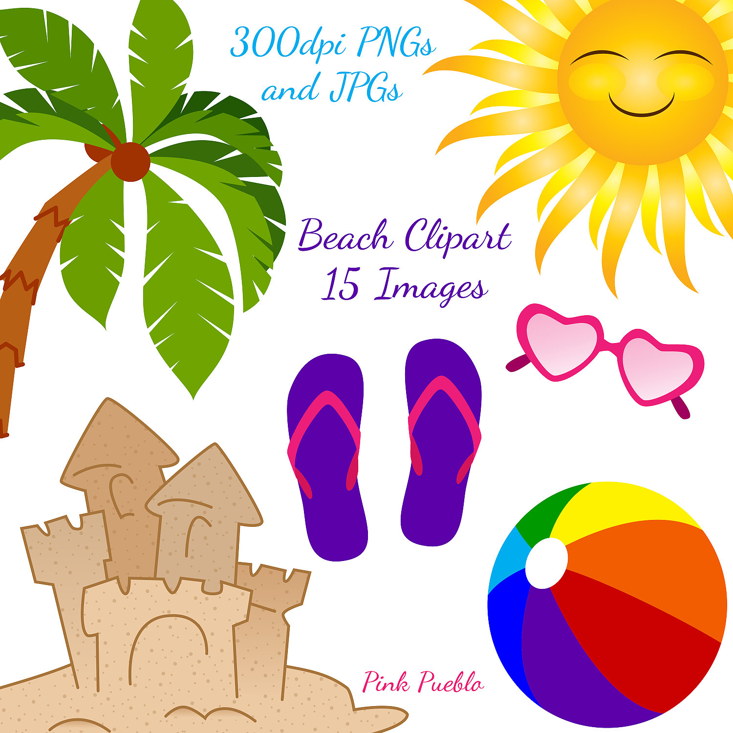 florida clipart summer vacation