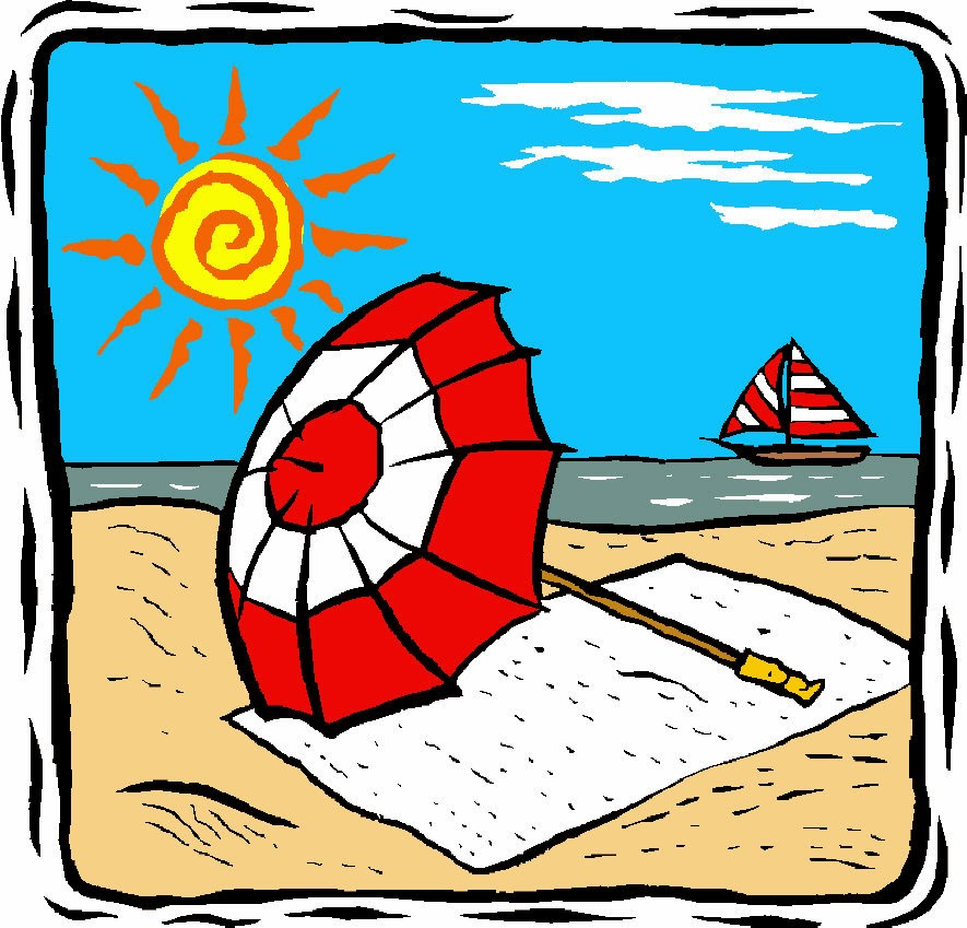 Florida clipart summer vacation. Scene at getdrawings com