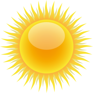 Sunshine free sun domain. Public clipart vector