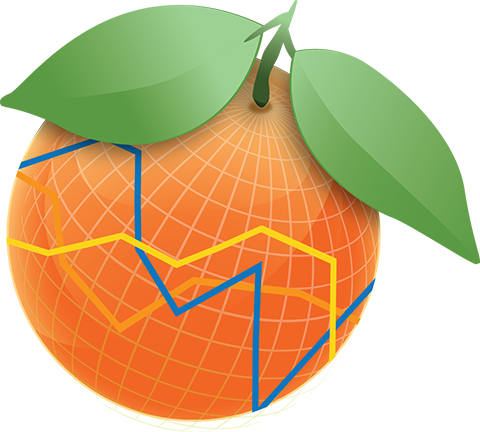 Florida orange png. County government dashboard stats