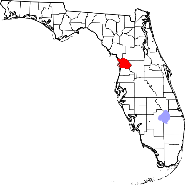 Florida outline png. File map of highlighting