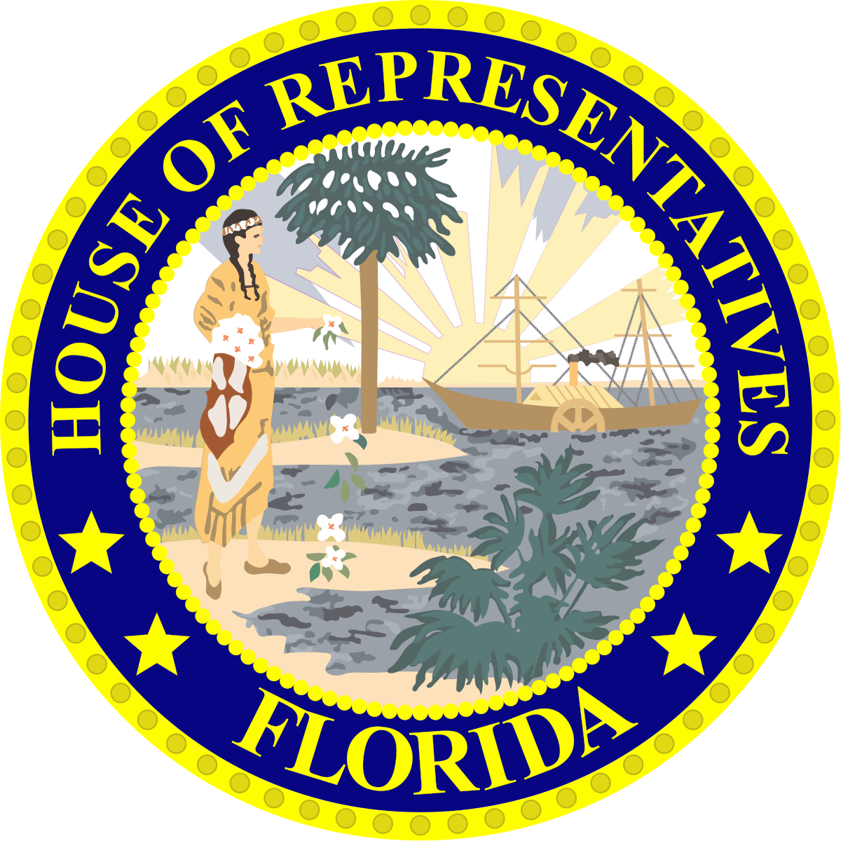 Florida seal png. House of representatives wikipedia