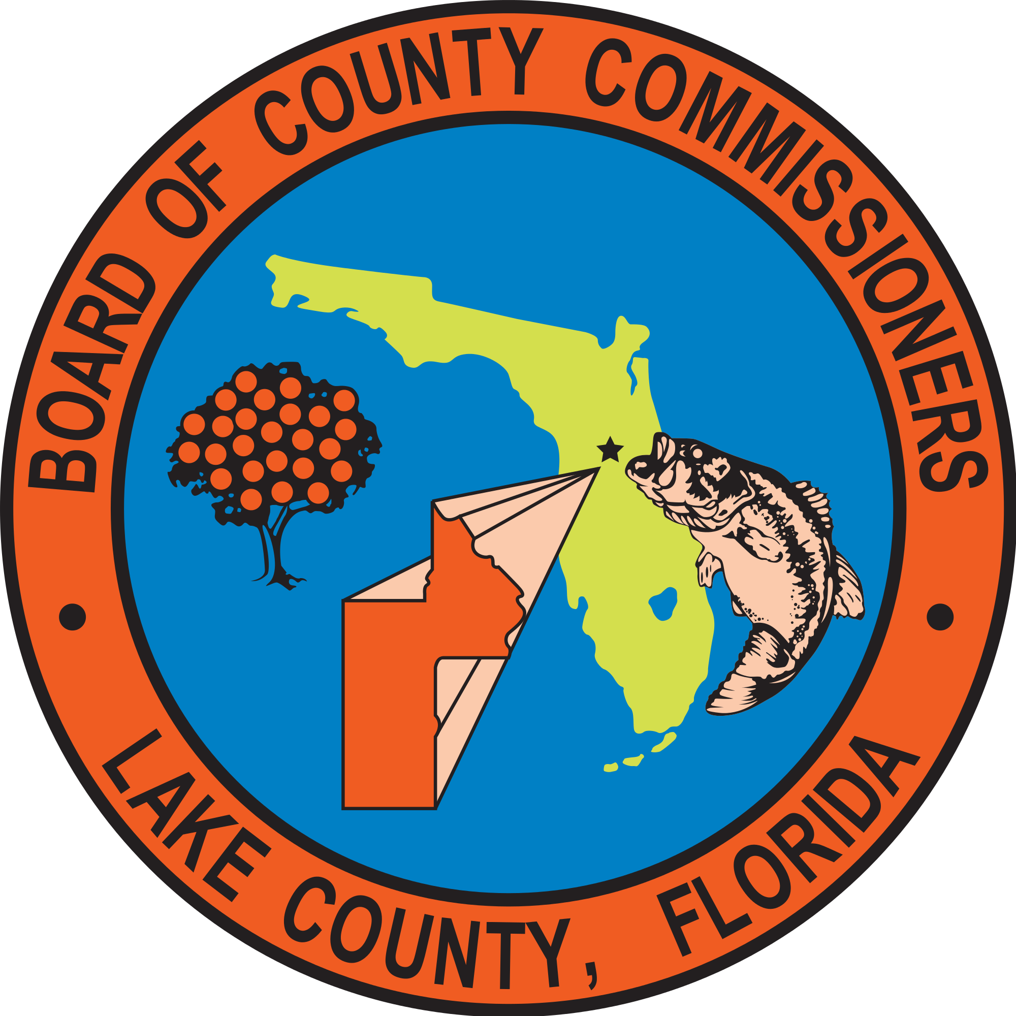 Florida seal png. File of lake county