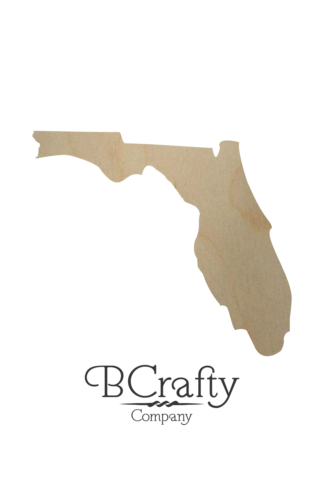 Florida shape png. Wooden state cutout