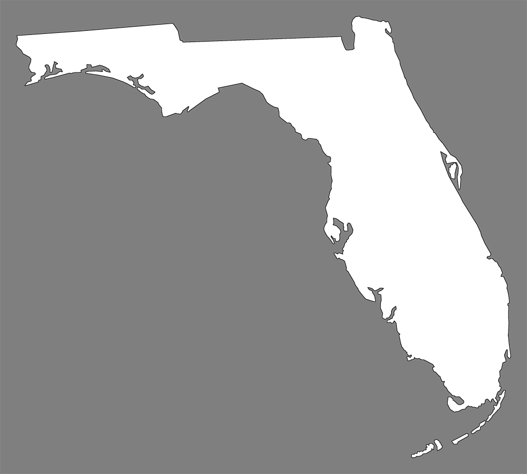 Florida silhouette png. Image