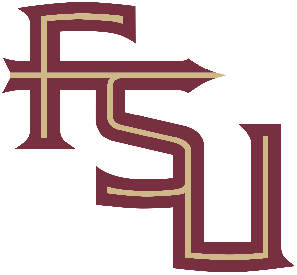 fsu svg black and white