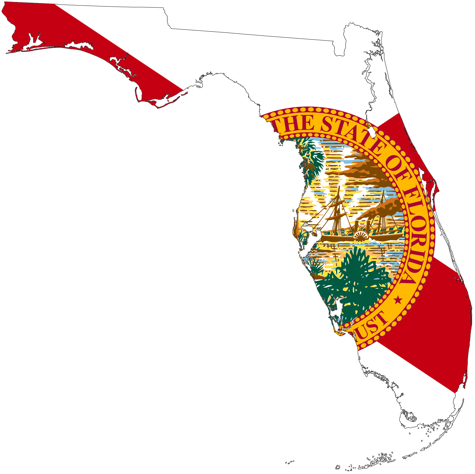 Florida state flag png. File map of svg