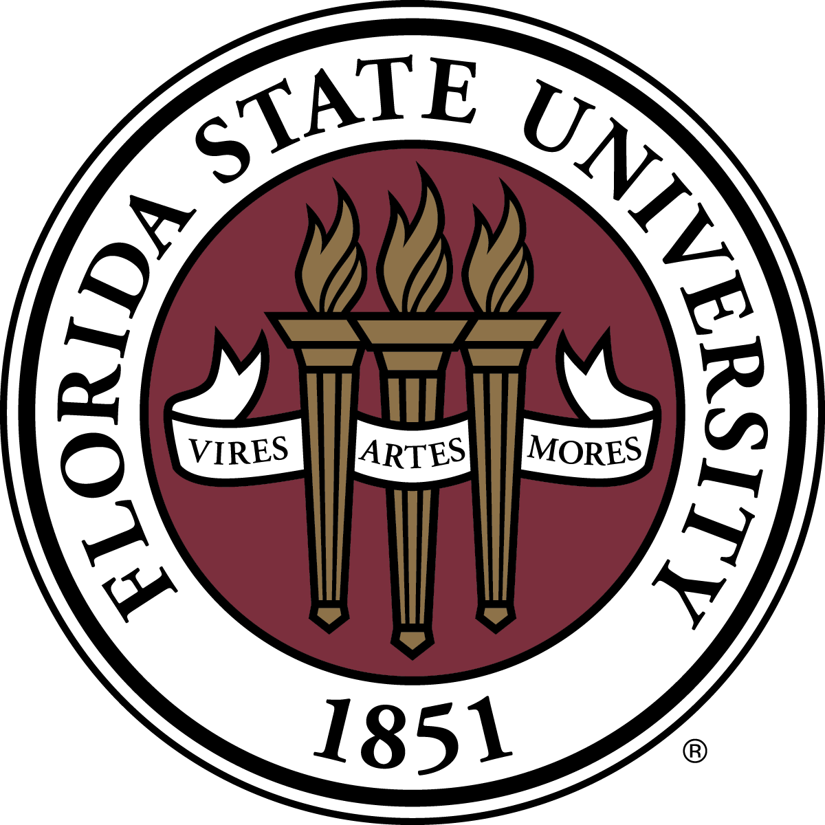 Florida state png. Image gallery university seal