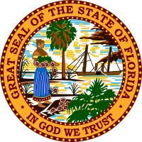 Florida state seal png. The great of th