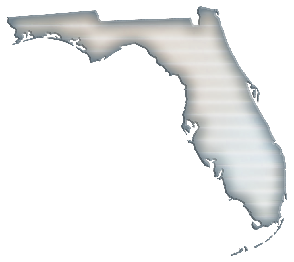 Florida transparent png. Abstract style maps grey