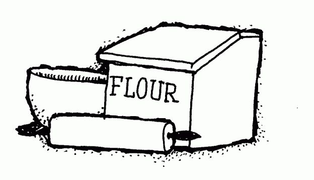 Flour clipart outline. Best emergency prepare