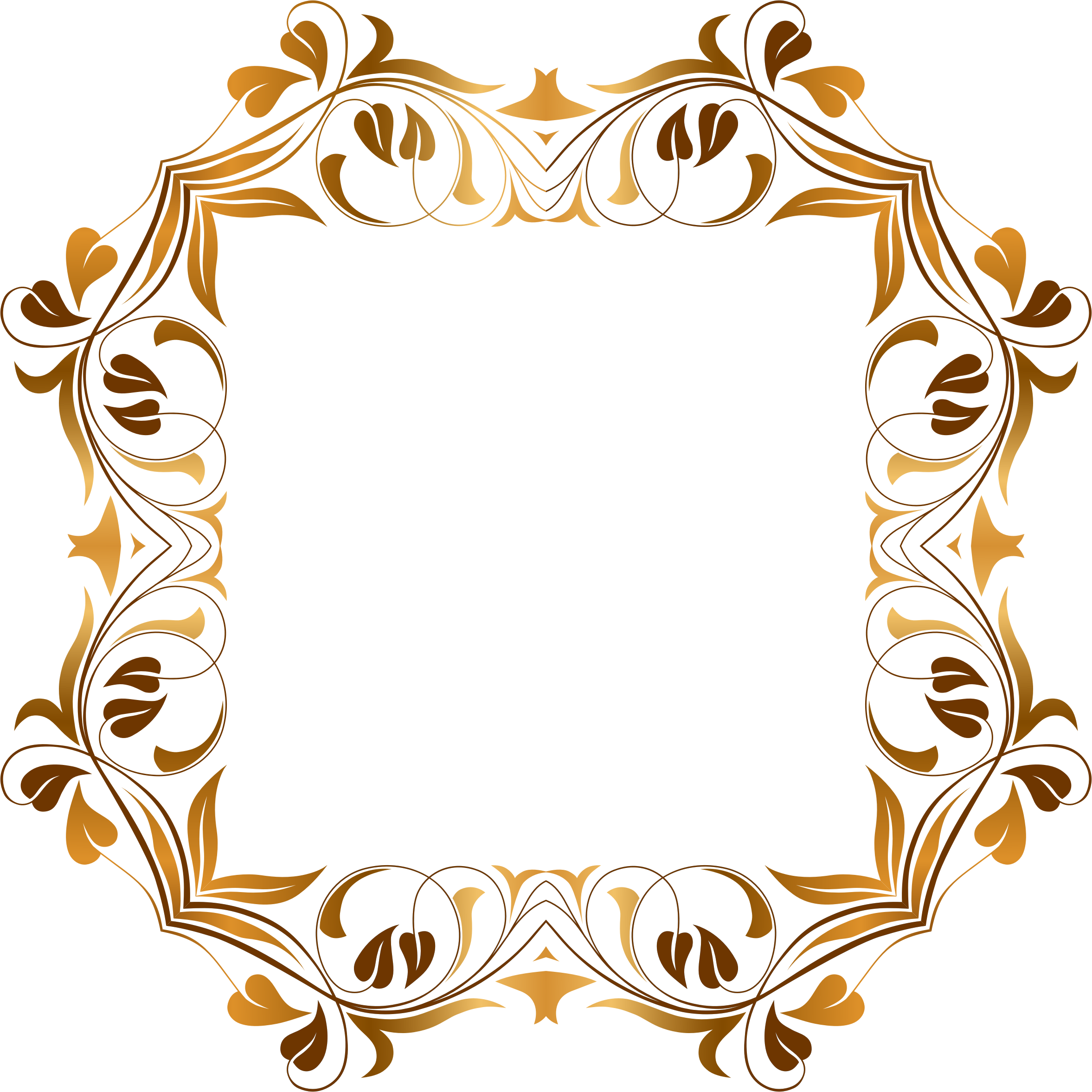 Flourish frame png. Floral by gdj on