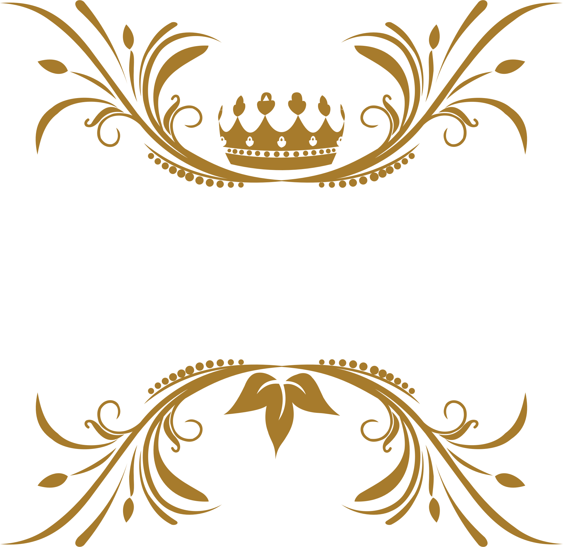 Flourish png transparent. Clipart crown no background
