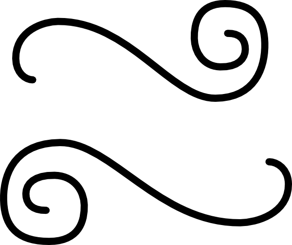 accents clipart squiggly line