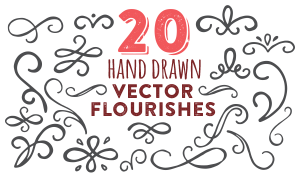Flourishes clipart long. Drawing at getdrawings com