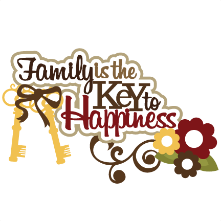 Flourishes svg masculine. Family is the key