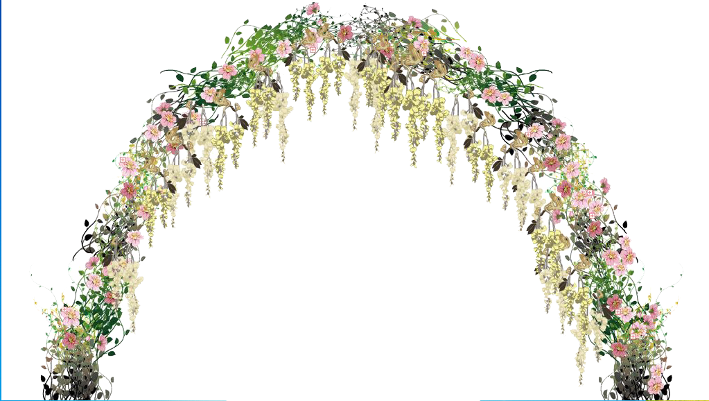 Flower arch png. Floral design flowers arches