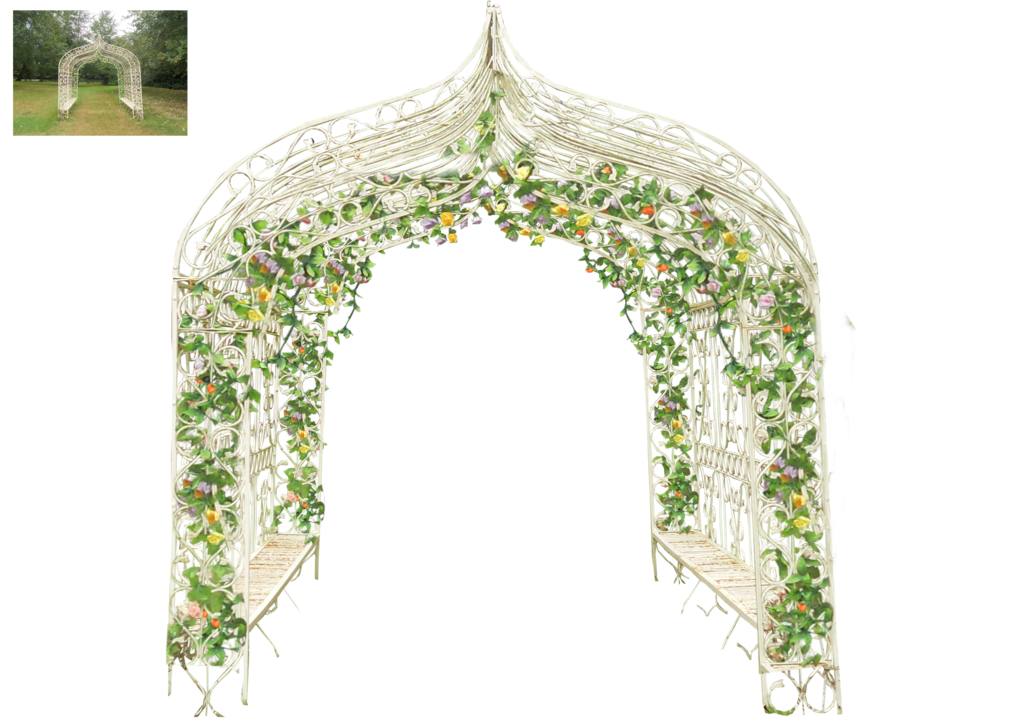 Flower arch png. Wedding adapted by virgolinedancer