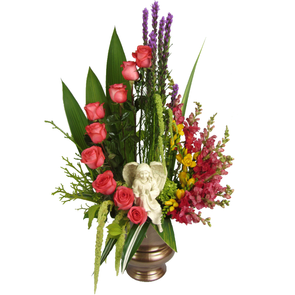vector bouquet funeral flower