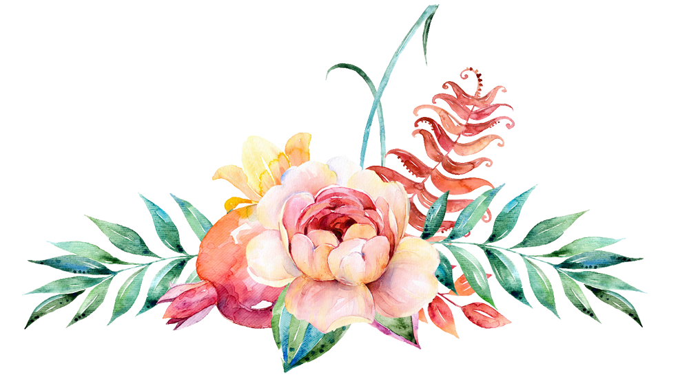 flower water color png