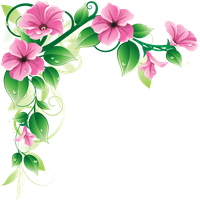 Png flower border. Download flowers borders free