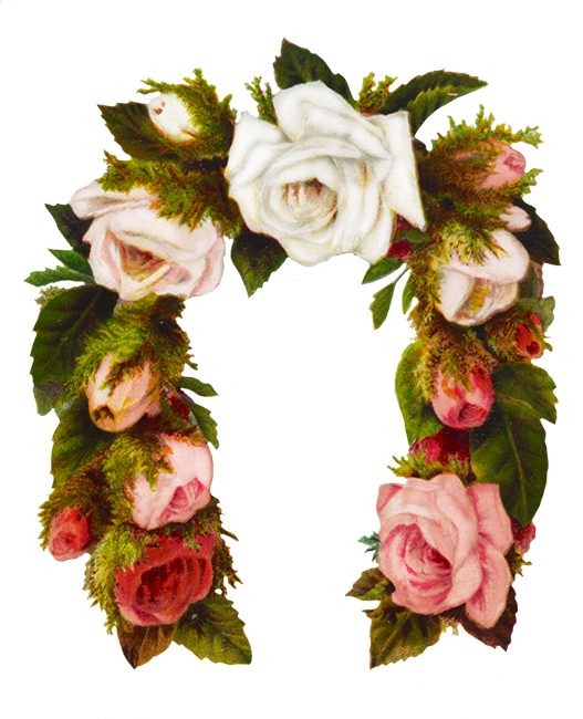 Flower bouquet border png. Borders and frames flowers