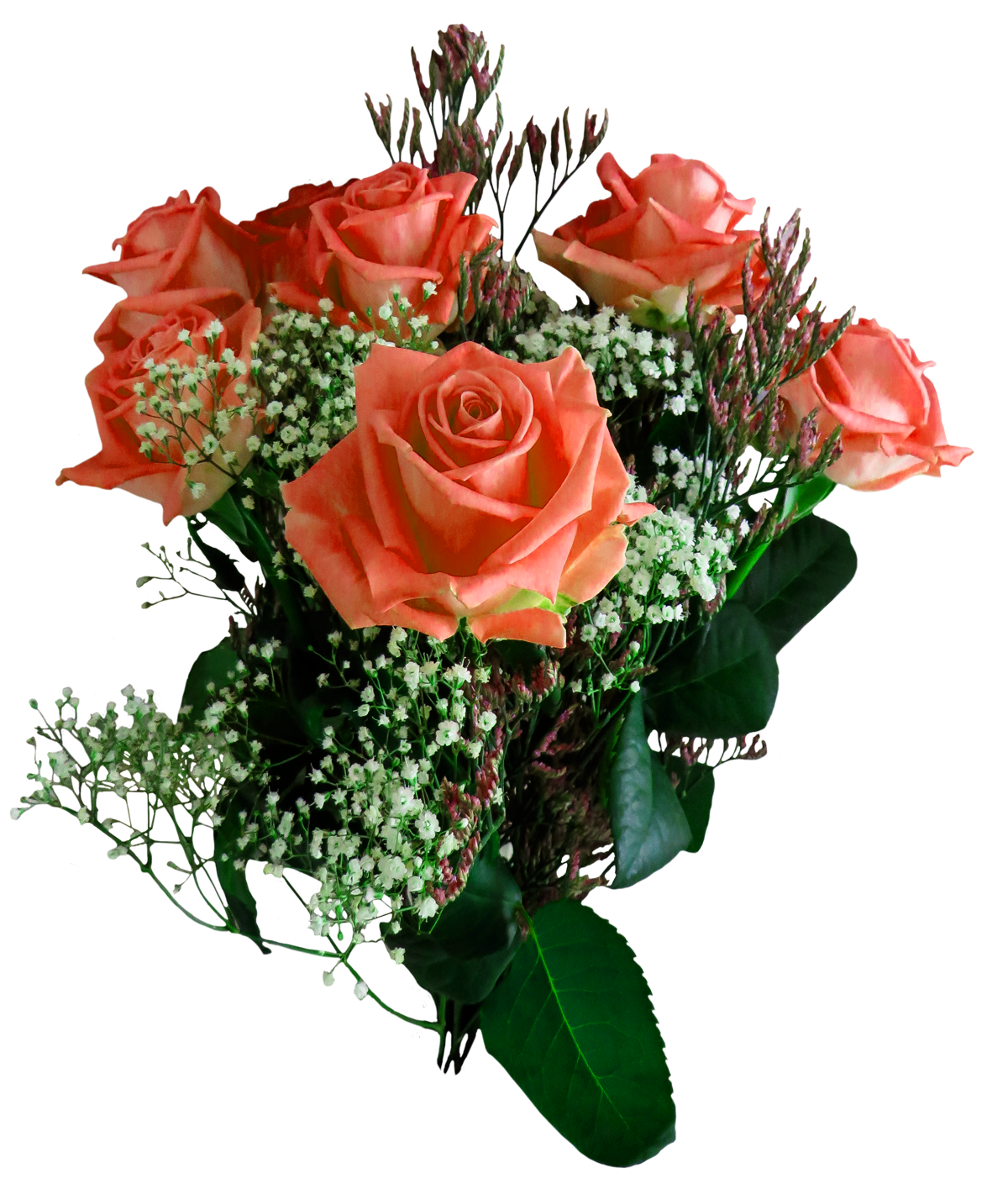 Transparent png bouquet of flowers. Images pngpix rose flower
