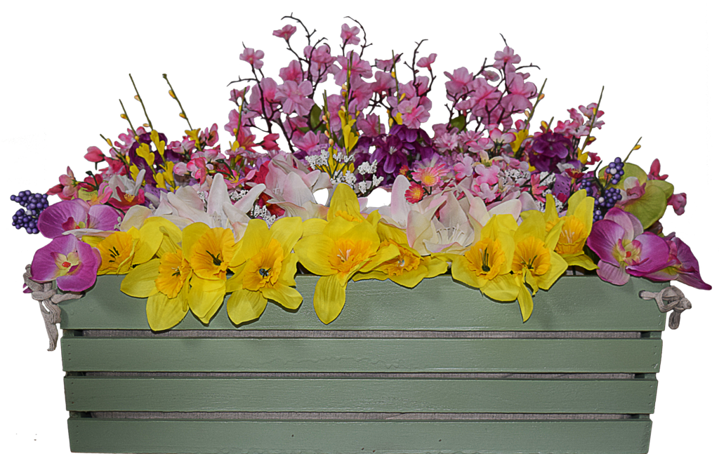 Flower box png. Spring updated by mom