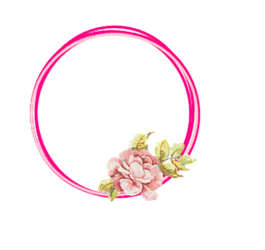 Flower circle png. Resource pink by ektamisra