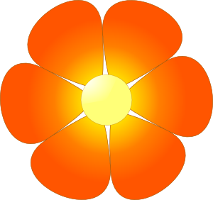 Flower clip art png. Single free clipart