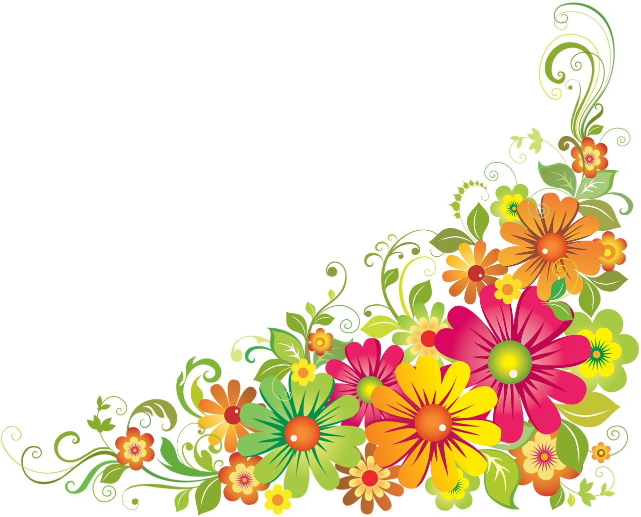 f e orig. Wildflower vector border image library download