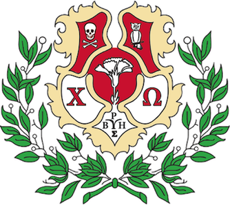 Panhellenic crest png. Chi omega wikipedia