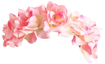 Floral crown png. Flower transparent pictures free