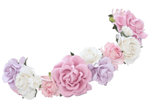 Flower headpiece png. Crown snapchat filter transparent