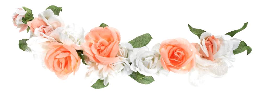 Flower crown png. Official psds share this