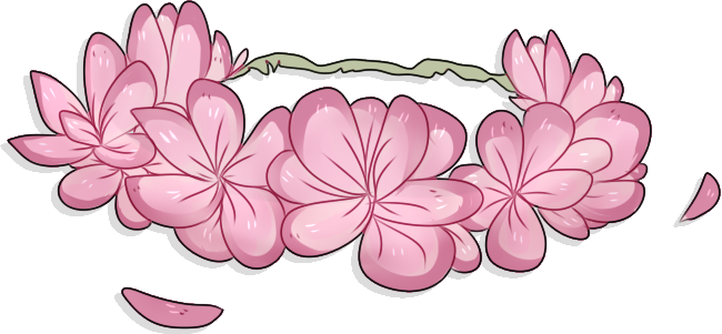 collection of drawing. Flower crown png transparent png library download