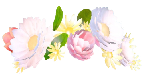 Flower crown png. Snapchat file mart