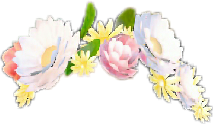 Flower crown snapchat png. Flowercrown sticker by bla
