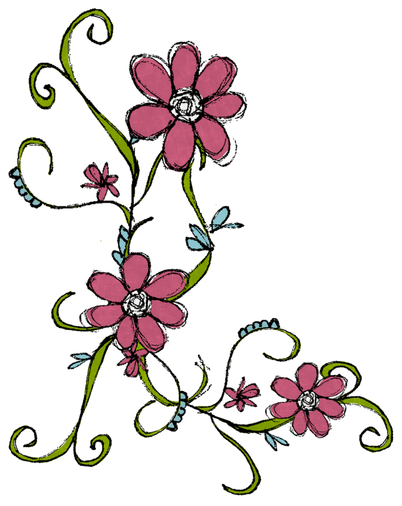 Flower doodle png. Photo this was uploaded