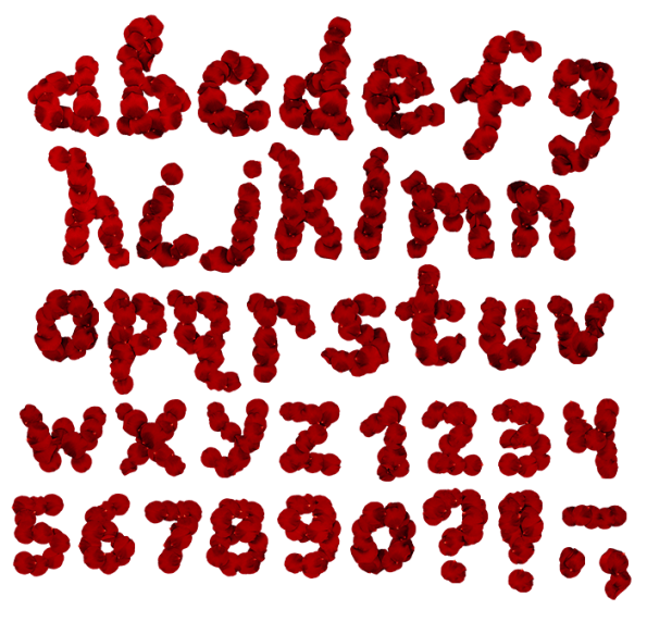 Flower font high definition png. Buy rose red to