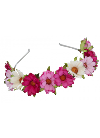 Flower hair png. Band on the hunt