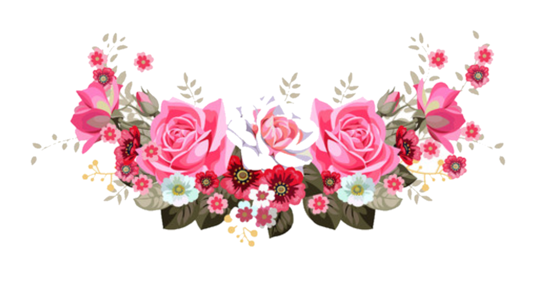 Flower header png. Floral april onthemarch co