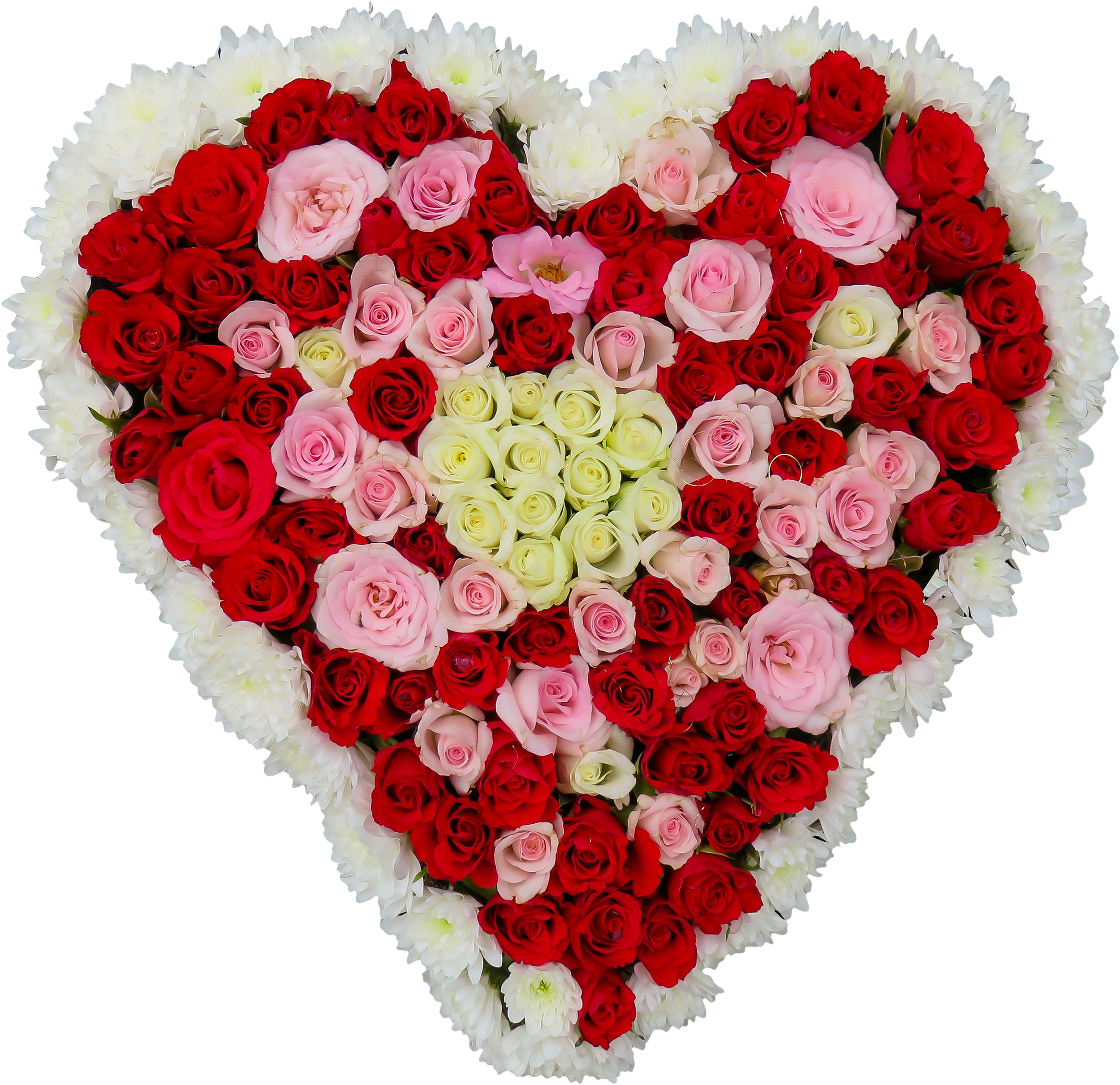 Flower heart png. Free flowers shaped as