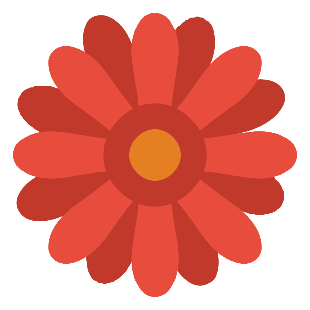 Flower icon png. Small flat iconset paomedia