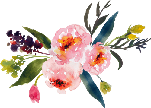 Flower illustration png. Pine state flowers