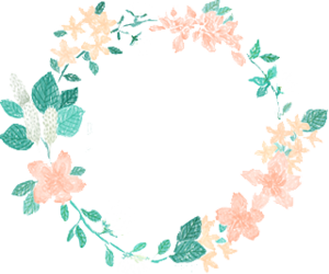 Flower overlays png. Images about kawaii